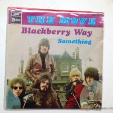 Discos de vinilo: THE MOVE SINGLE BLACKBERRY WAY+ SOMETHING. Lote 44237487