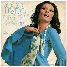 Discos de vinilo: ROCIO JURADO - ¿CUAL ES LA CALLE, CALLE DE VD.? - SN PROMO SPAIN 1973 - COLUMBIA MO 1326. Lote 44240109