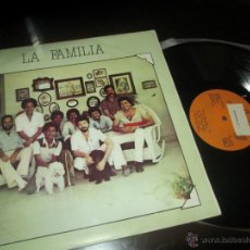 Discos de vinilo: LA FAMILIA ***RICARDO RIVERA*** MARIO VALDES FERNANDEZ / FUSION CUBA JAZZ-SALSA GREAT -ULTRA RARE. Lote 44241713