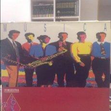 Discos de vinilo: IV MUESTRA DE MÚSICA JOVEN MALAGA. Lote 44251578