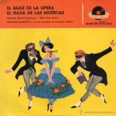 Discos de vinilo: HERMANN HAGESTEDT Y SU GRAN ORQUESTA, EP, EL BAILE DE LA OPERA + 1, AÑO 1959. Lote 44251953