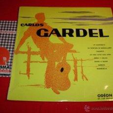 Discos de vinil: CARLOS GARDEL CARLOS GARDEL FRANCE 1959 10 PULGADAS. Lote 44252649
