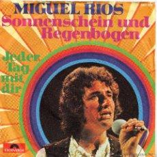 Discos de vinilo: MIGUEL RIOS -SONNENSCHEIN UND REGENBOGEN -1971 ED ALEMANIA -CANTADO EN ALEMAN. Lote 44257736