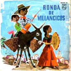 Discos de vinilo: RONDA DE VILLANCICOS. Lote 44258963