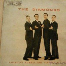 Discos de vinilo: THE DIAMONDS THE STROLL + 3 EP SPAIN 1960. Lote 44263415