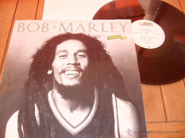 BOB MARLEY LP CHANCE ARE. MADE IN GERMANY. 1981 (Música - Discos - LP Vinilo - Reggae - Ska)