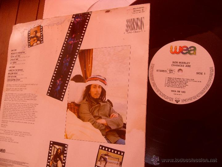 Discos de vinilo: BOB MARLEY LP CHANCE ARE. MADE IN GERMANY. 1981 - Foto 2 - 44270882