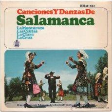 Discos de vinilo: CANCIONES Y DANZAS DE SALAMANCA (EP) HISPAVOX 1966. Lote 44275656