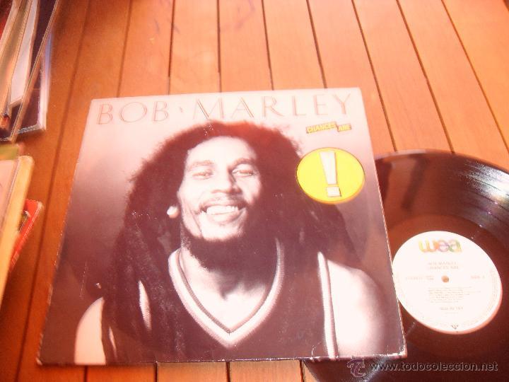 Discos de vinilo: BOB MARLEY LP CHANCES ARE. MADE IN GERMANY. 1981 - Foto 2 - 44285376