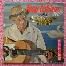 Discos de vinilo: TONI LEBLANC QUE ME VENDEN UN PISO 1963 BELTER 50682 DISCO VINILO. Lote 44287695