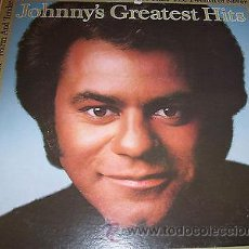 Discos de vinilo: JOHNNY MATHIS - GREATEST HITS - (CBS-1977) PROMO. Lote 44288391