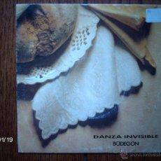 Discos de vinilo: DANZA INVIVIBLE - BODEGÓN ( LA MISMA CANCIÓN EN LAS DOS CARAS ). Lote 44289192