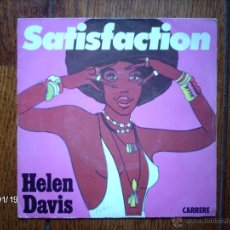 Discos de vinilo: HELEN DAVIS - SATISFACTION + YESTERDAY A KING . Lote 44289240