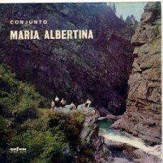 Discos de vinilo: CONJUNTO MARIA ALBERTINA / MARIA CHEIA DE GRAÇA / O EMIGRANTE + 2 (EP PORTUGUES). Lote 103915018