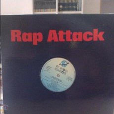 Discos de vinilo: RAP ATTACK . ITS A RAP ATTACK MEGAMIX. Lote 44295955