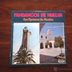 Discos de vinilo: FANDANGOS DE HUELVA ( LOS ROCIEROS DE HUELVA ). Lote 44295998