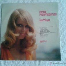 Discos de vinilo: LOS MAYAS EXITOS INTERNACIONALES. DISCO DE VINILO LP BELTER. Lote 44297536