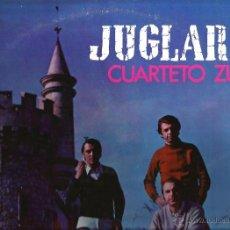 Discos de vinilo: LP CUARTETO ZUPAY : JUGLARES (JORGE LUIS BORGES, ASTOR PIAZZOLLA, HORACIO FERRER, MARIA ELENA WALSH. Lote 44299241