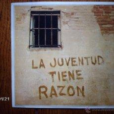 Discos de vinilo: MANOLO DIAZ - LA JUVENTUD TIENE RAZÓN + SIERRAS Y VALLES . Lote 44300742