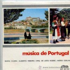 Discos de vinilo: MUSICA DE PORTUGAL / MARIA CLARA - ALBERTO RIBEIRO - MARIO COELHO + 1 (EP PORTUGUES). Lote 44302991