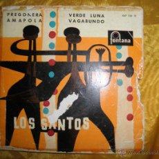 Discos de vinilo: LOS SANTOS. PREGONERA / AMAPOLA + 2. EP. FONTANA 1960. Lote 44306025