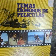 Discos de vinilo: TEMAS FAMOSOS DE PELICULAS -LP. Lote 44306401