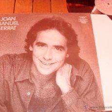 Discos de vinilo: JOAN MANUEL SERRAT LP SINCERAMENTE TEU. MADE IN SPAIN. 1986. Lote 44307506