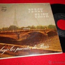 Discos de vinil: PERCY FAITH BAJO LOS PUENTES DE PARIS/BLUE MIRAGE/SWEDISH RHAPSODY +1 EP 1958 PHILIPS ESPAÑA SPAIN. Lote 44309074