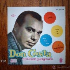 Discos de vinilo: DON COSTA SUS COROS Y SU ORQUESTA - ADIOS + 3 . Lote 44312131
