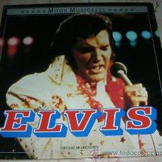 Discos de vinilo: ELVIS PRESLEY - MITOS MUSICALES - CAJA CON 2 LPS CIRCULO DE LECTORES. Lote 44319074