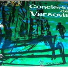 Discos de vinilo: CONCIERTO DE VARSOVIA - EP VERGARA 1961. Lote 44319228