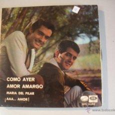 Discos de vinilo: MAGNIFICO SINGLE DEL DUO DINAMICO. Lote 44319590