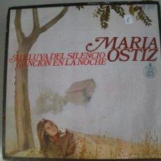 Discos de vinilo: MAGNIFICO SINGLE DE - MARIA OSTIZ -. Lote 44319627