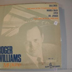 Discos de vinilo: MAGNIFICO SINGLE DE ROGER - WILLIAMS -. Lote 44319647