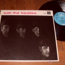 Discos de vinilo: THE BEATLES LP WITH THE BEATLES. MADE IN SPAIN. 1964.. Lote 44321430