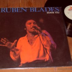 Discos de vinilo: RUBEN BLADES LP. DOBLE FILO. MADE IN SPAIN. 1989.. Lote 44321961