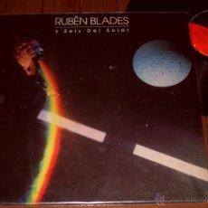 Discos de vinilo: RUBEN BLADES Y SEIS DEL SOLAR LP AGUA DE LUNA. MADE IN SPAIN. 1987. Lote 44322110