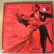 Discos de vinilo: MAGNIFICO SINGLE DE - JOH - STRAUSS -. Lote 44323862