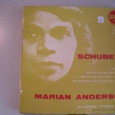 Discos de vinilo: MAGNIFICO SINGLE DE MARIAN ANDERSON -. Lote 44323925