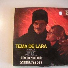 Discos de vinilo: MAGNIFICO SINGLE DEL TEMA DE LA PELICULA DEL DOCTOR ZIVAGO -. Lote 44323945