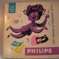 Discos de vinilo: MAGNIFICO SINGLE - RARO - PUBLICIDAD - PHILIPS -. Lote 44324051