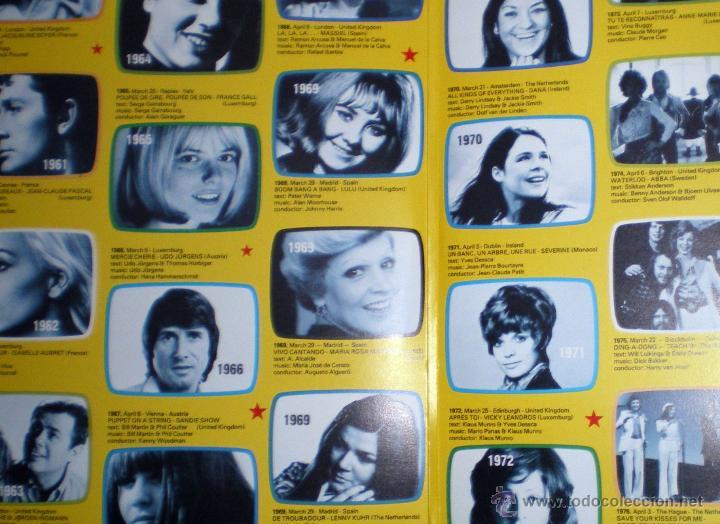 Discos de vinilo: Aniversario 25 años Festival de Eurovisión 1956-1981 ganadores 29 LP doble 1981 Polydor - Foto 5 - 235643825