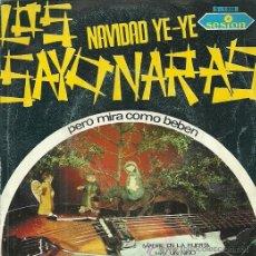 Discos de vinilo: LOS SAYONARA SINGLE SELLO SESION AÑO 1966. Lote 44327858