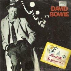 Discos de vinilo: DAVID BOWIE SINGLE SELLO VIRGIN AÑO 1986. Lote 44327928