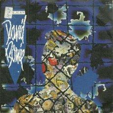Discos de vinilo: DAVID BOWIE SINGLE SELLO EMI AÑO 1984. Lote 44328141