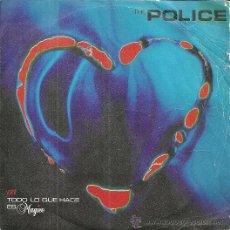 Discos de vinilo: THE POLICE SINGLE SELLO A&M RECORDS AÑO 1981. Lote 44328238