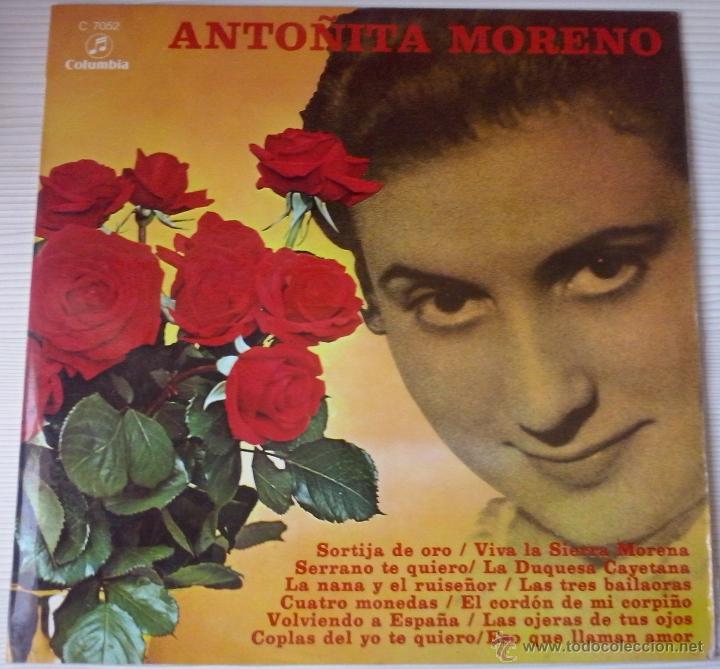 ANTOÑITA MORENO (Música - Discos - LP Vinilo - Flamenco, Canción española y Cuplé)