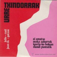 Discos de vinilo: URRETXINDORRAK - AI AMATXO - EP DE VINILO FOLKLORE DEL PAIS VASCO. Lote 44344299