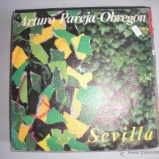 Discos de vinilo: MAGNIFICO SINGLE DE - ARTURO PAREJA OBREGON -. Lote 44347077
