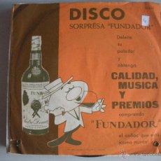 Discos de vinilo: MAGNIFICO SINGLE DISCO- FUNDADOR - EL PORON POMPERO -VIVA EL ROCIO -. Lote 44347081